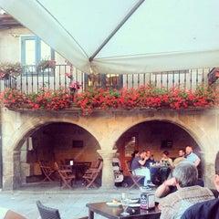 Photo taken at Café - Bar Carabela by Vero on 7/21/2014