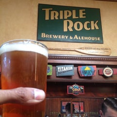 Photo taken at Triple Rock Brewery & Alehouse by Swami V. on 5/25/2013
