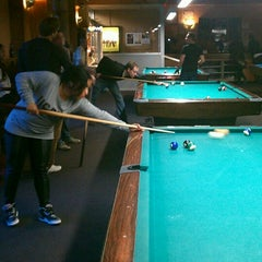 Photo taken at SoHo Billiards by Michael B. on 9/29/2012