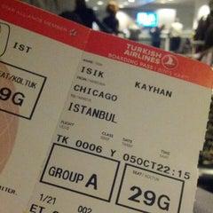 Photo taken at Turkish Airlines CIP Lounge by Kayhan I. on 10/6/2013