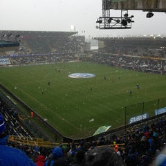 Photo taken at Club Brugge K.V. by Dirk V. on 2/24/2013