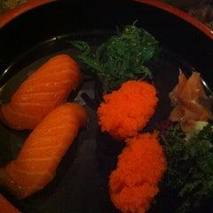 Photo taken at Ai Sushi (อัย ซูชิ) by Fern J. on 10/3/2012