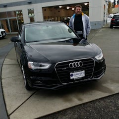 Photo taken at Barrier Audi by Tom B. on 10/19/2014