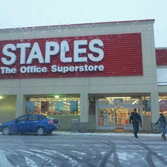 Photo taken at Staples by Angela T. on 2/2/2013