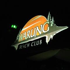 Photo taken at Warung Beach Club by Amilton N. on 2/12/2013