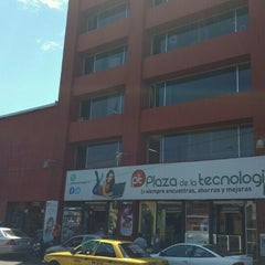 Photo taken at Plaza De La Tecnología by osornios on 4/5/2016