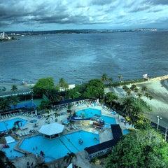 Photo taken at Hilton Cartagena by Chegui R. on 6/29/2013