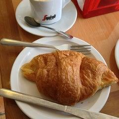 Photo taken at French Riviera Bakery & Cafe by Jenna on 1/19/2013