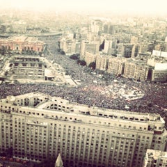 Photo taken at Tahrir Square   ميدان التحرير by Emad M. on 7/6/2013