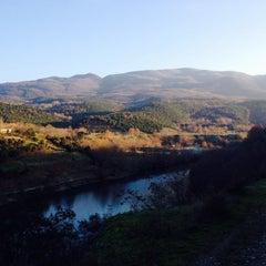 Photo taken at Φράγμα Αλιάκμονα by Alexandra T. on 12/15/2014