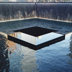 Photo taken at National September 11 Memorial & Museum by Graham H. on 5/12/2013