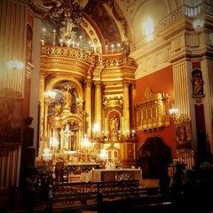 Photo taken at Iglesia San Pedro de Lima by Andres Z. on 9/10/2011