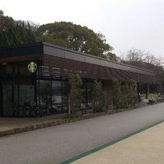 Photo taken at Starbucks Coffee 福岡大濠公園店 by なびぞ on 1/18/2013