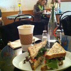 Photo taken at Cafe Madeline by Patrick M. on 5/20/2013