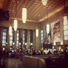 Photo taken at 30th Street Station by Trent K. on 12/21/2012