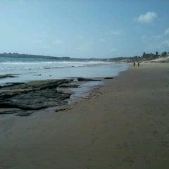 Photo taken at Praia de Pium by Monique R. on 2/9/2013