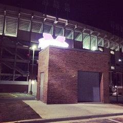 Photo taken at Davis Wade Stadium at Scott Field by StrangeBrewCoffeehouse C. on 3/25/2014