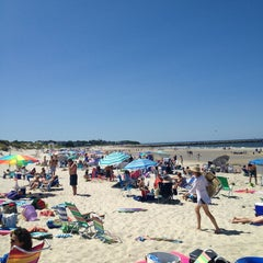 Photo taken at Sea Street Beach by Jill H. on 8/14/2013