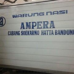 Photo taken at Warung Nasi AMPERA by Fityan A. on 3/17/2013