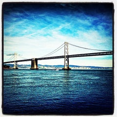 Photo taken at San Francisco-Oakland Bay Bridge by Brad K. on 1/28/2013