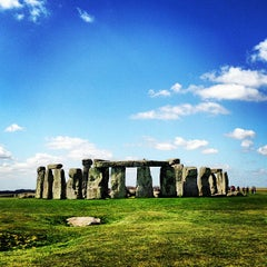 Photo taken at Stonehenge by Tuo W. on 5/2/2013