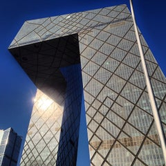 Photo taken at 中国中央电视台 China Central Television Station by Tuo W. on 1/3/2015
