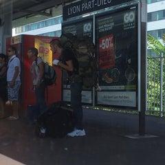 Photo taken at Gare de Lyon-Brotteaux by Vasily P. on 9/7/2014