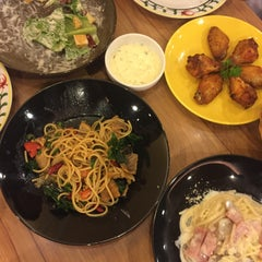 Photo taken at The Pizza Company (เดอะ พิซซ่า คอมปะนี) by Patsorn N. on 1/19/2016