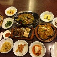 Photo taken at Auntie Kim's Korean Restaurant by Charlotte C. on 5/8/2014