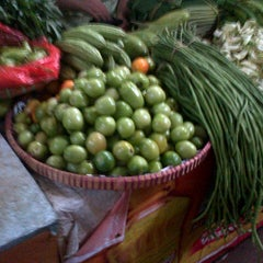 Photo taken at pasar jati by Erlina N. on 11/16/2012