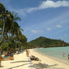 Photo taken at Phi Phi Island Village by Valeria S. on 2/18/2013