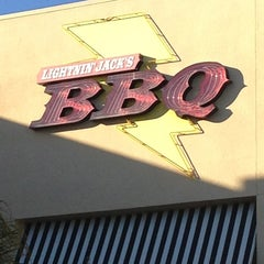 Photo taken at Lightnin Jack's BBQ by Maria B. on 2/16/2013