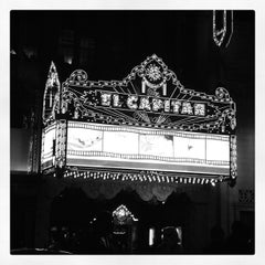Photo taken at El Capitan Theatre by Gillian S. on 1/17/2013