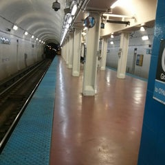 Photo taken at CTA - Grand (Blue) by Joseph P. on 7/2/2013