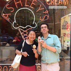 Photo taken at Ashley's Ice Cream Cafe by ChezCei on 6/30/2015