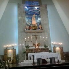 Photo taken at Igreja Nossa Senhora de Fátima e São Jorge by Jéssica M. on 1/13/2013