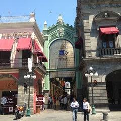 Photo taken at Los Portales de Puebla by Irma V. on 3/19/2013