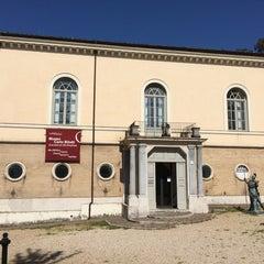 Photo taken at Museo Carlo Bilotti - Aranciera di Villa Borghese by Nikos M. on 4/7/2014