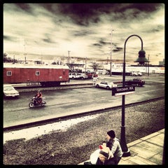 Photo taken at Vancouver Amtrak Station (VAN) by Aaron C. on 1/24/2013