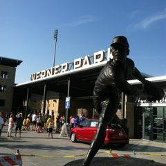 Photo taken at Werner Park by Kevin F. on 6/21/2013