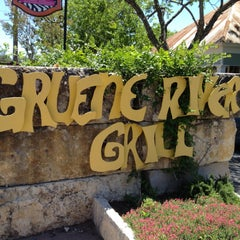 Photo taken at Gruene River Grill by Mary L. on 5/5/2013