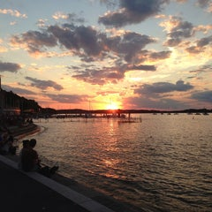 Photo taken at Memorial Union Terrace by Catherine G. on 8/2/2013
