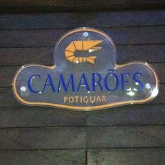 Photo taken at Camarões Potiguar by Sérgio L. on 1/12/2013
