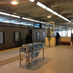 Photo taken at Warden Subway Station by Anthony D. on 2/3/2013