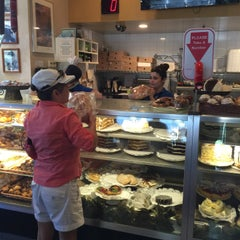 Photo taken at Sherman's Deli & Bakery by Mark S. on 7/4/2015