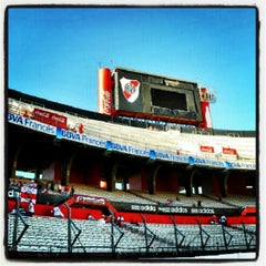 Photo taken at Estadio Monumental (River Plate) by Patricio Andrés L. on 2/24/2013