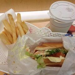 Photo taken at MOS Burger by Bek E. on 7/15/2014