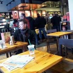 Photo taken at Starbucks by Mashen'ka B. on 12/14/2013