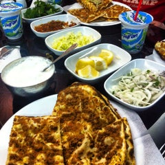Photo taken at Buket Lahmacun by Ayşe Y. on 3/14/2014