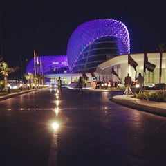 Photo taken at Yas Viceroy by Ahmed A. on 6/20/2013